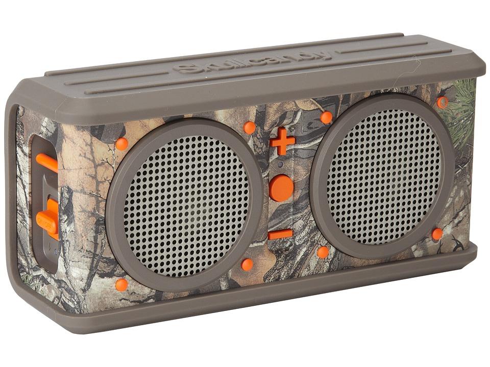 Skullcandy Air Raid Bluetooth Realtree/Dark Orange/Tan Headphones