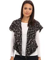 kensie - Space Dye Chubby Fur Vest