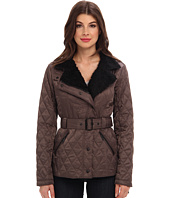 Vince Camuto - Quilted Jacket with Faux Fur Collar – G8091