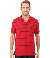 Nautica - Striped Performance Deck Polo Shirt