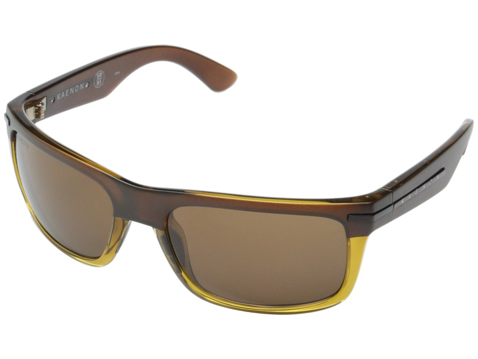 Kaenon Burnet Chocolate Brown/Topaz/Brown B12 Sport Sunglasses