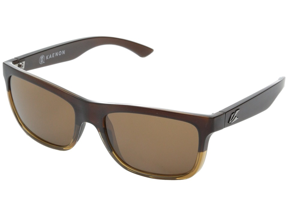 Kaenon Clarke Chocolate Brown/Topaz/Brown B12 Sport Sunglasses
