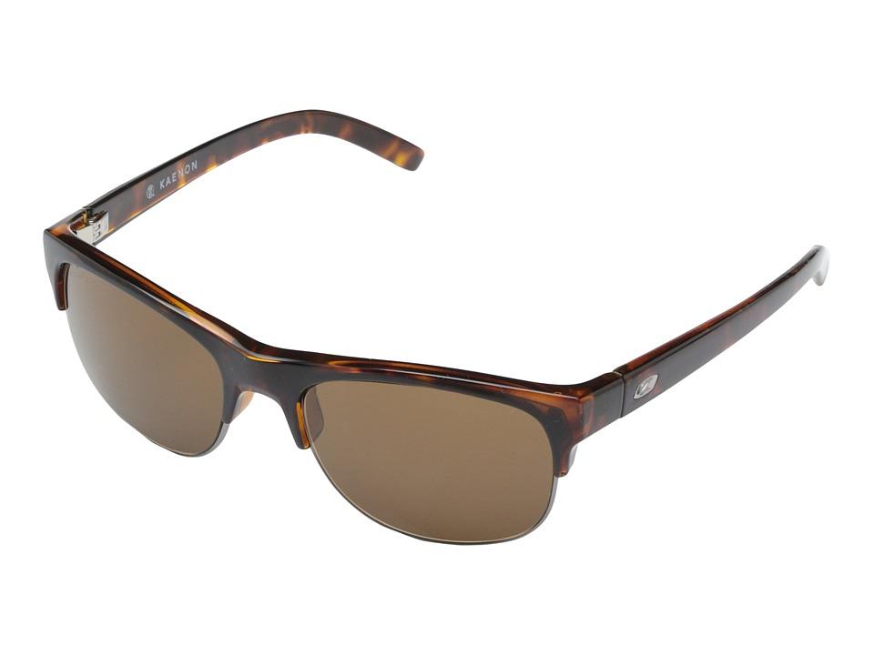 Kaenon Bluesmaster Tortoise/Gold/Brown B12 Sport Sunglasses