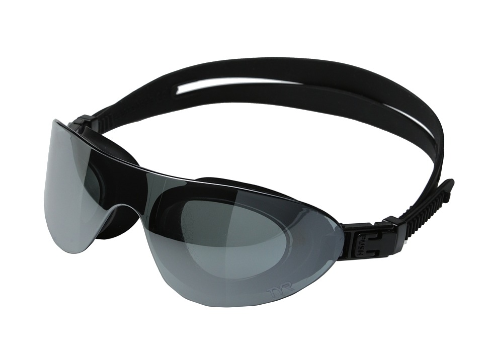 Tyr Swim Shades Mirrored (Metal Smoke) Water Goggles