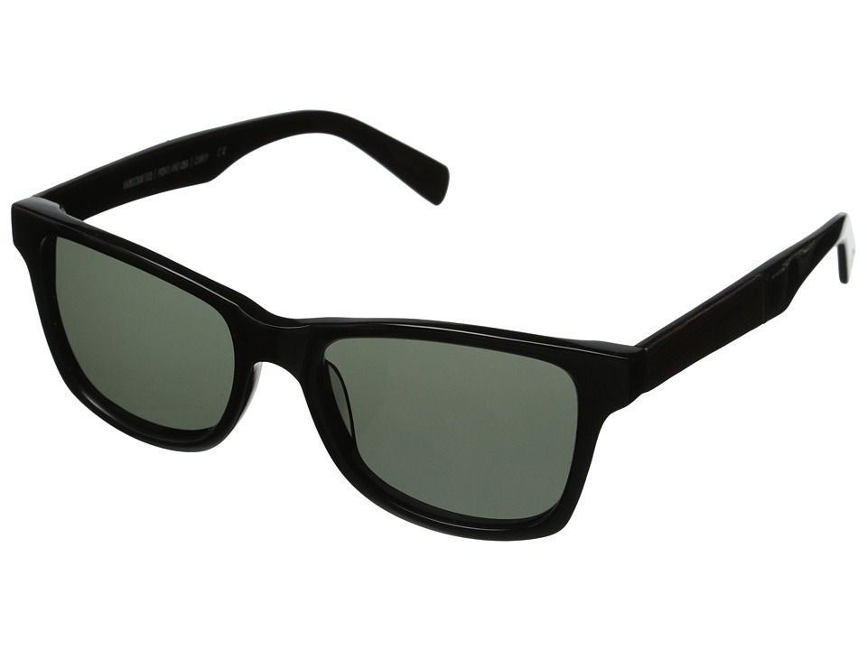 Shwood Canby Fifty Fifty Polarized Black // Ebony Grey Polarized Sport Sunglasses