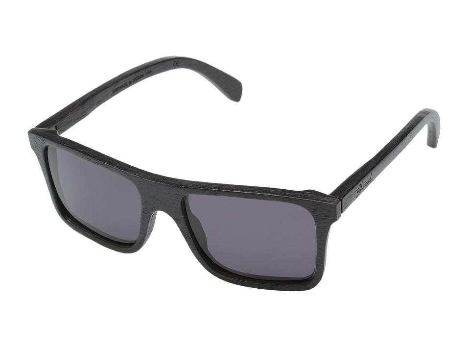 Shwood Govy Dark Walnut Grey Sport Sunglasses
