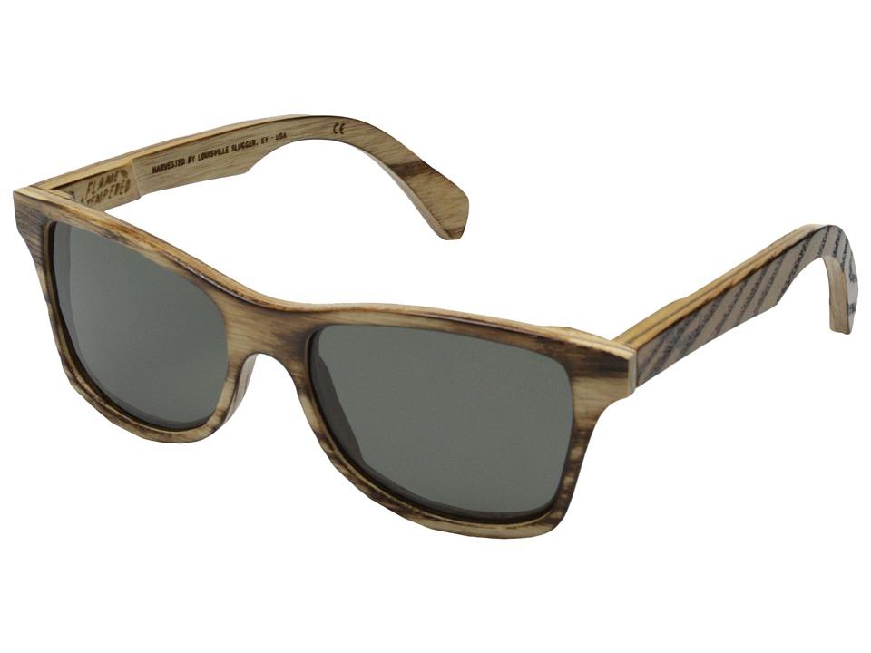 Shwood Canby Louisville Slugger Polarized Slugger Original Grey Polarized Sport Sunglasses