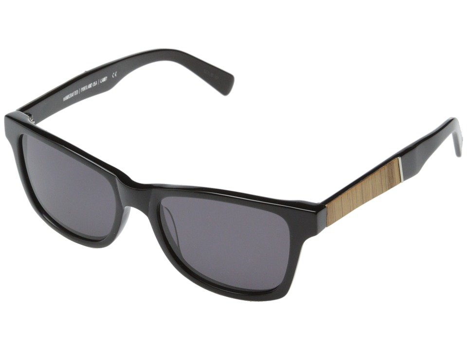 Shwood Canby Fifty Fifty Black // Oak Grey Sport Sunglasses