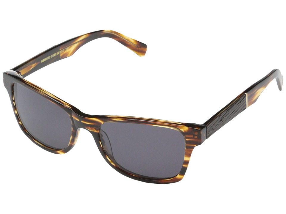 Shwood Canby Fifty Fifty Tortoise shell // Ebony Grey Sport Sunglasses