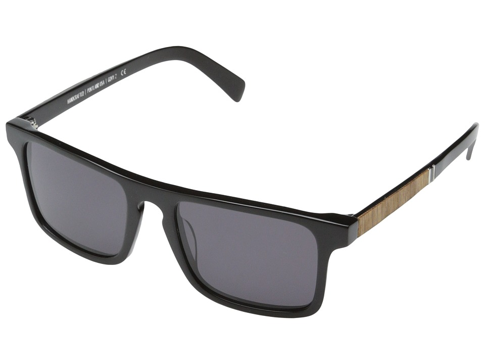 Shwood Govy 2 Black // Oak Grey Sport Sunglasses