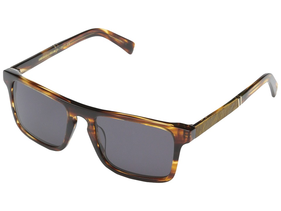Shwood Govy 2 Tortoise shell // Maple Burl Grey Sport Sunglasses