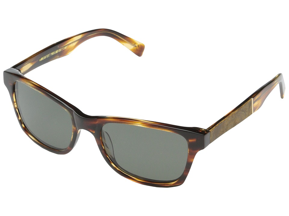 Shwood Canby Fifty Fifty Polarized Tortoise shell // Maple Burl Grey Polarized Sport Sunglasses