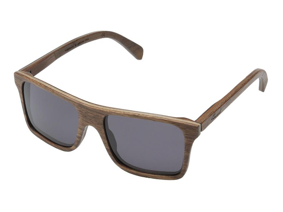 Shwood Govy Walnut Grey Sport Sunglasses
