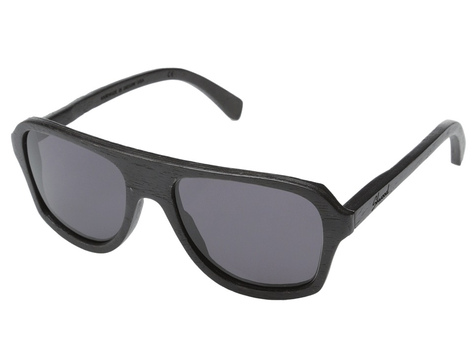 Shwood Ashland Dark Walnut Grey Sport Sunglasses