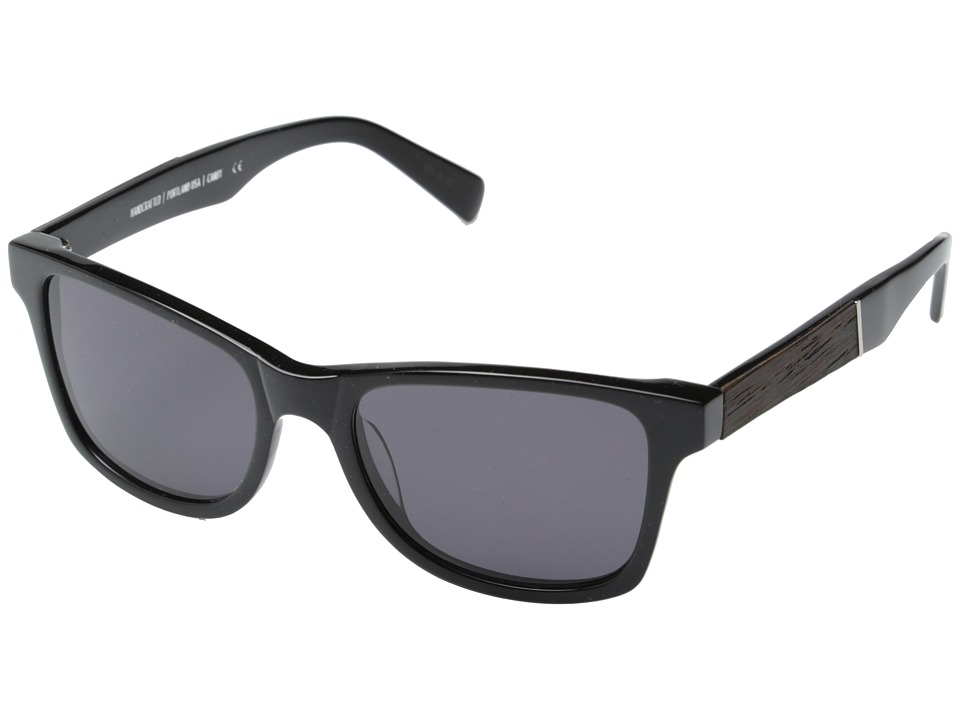 Shwood Canby Fifty Fifty Black // Ebony Grey Sport Sunglasses