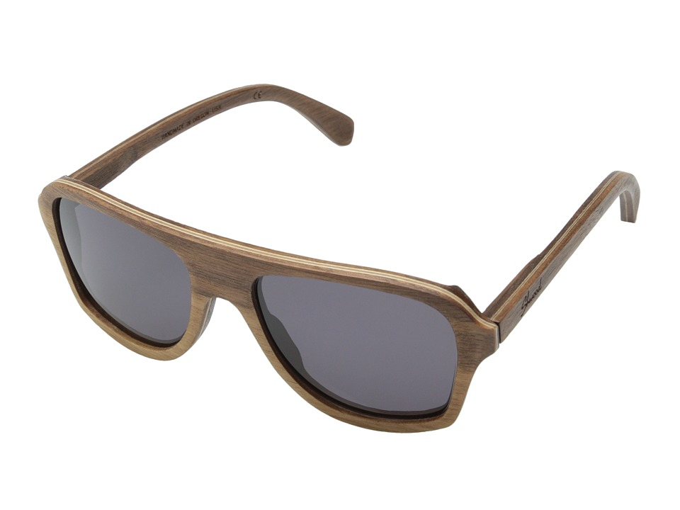 Shwood Ashland Walnut Grey Sport Sunglasses