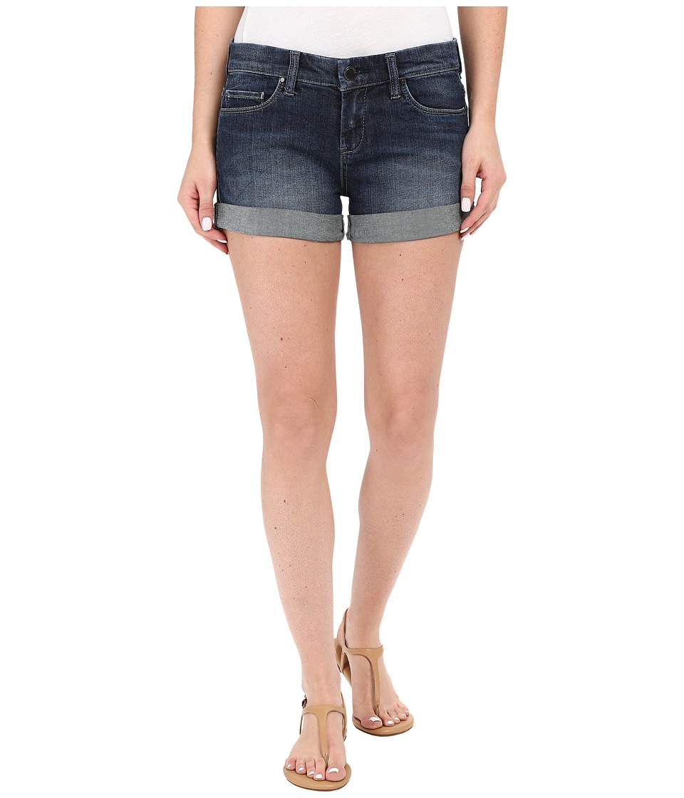 Blank NYC The Basic Cuff Short in Denim Blue Denim Blue Womens Shorts