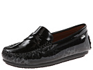 Venettini Kids 55-Savor (Little Kid/Big Kid) (Black Dino Patent/Black Patent)