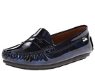 Venettini Kids 55-Savor (Little Kid/Big Kid) (Navy Draw Patent/Navy Gloss Patent)
