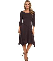 Mod-o-doc - Cotton Modal Seamed Scoopneck Dress