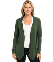 Mod-o-doc - Lightweight French Terry 1-Button Cardigan