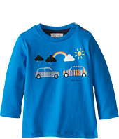 Paul Smith Junior - T-Shirt With Printed Cars Rainbow And Sun (Infant)