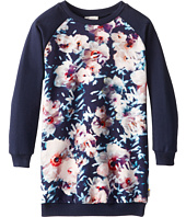 Paul Smith Junior - Long-Sleeved Dress With Flower Print (Toddler/Little Kids)