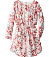 Paul Smith Junior - Flower Printed Dress With Elastic Wasteband (Toddler/Little Kids)