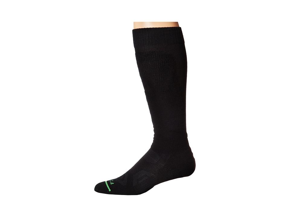 Fits Pro Ski OTC Black Crew Cut Socks Shoes
