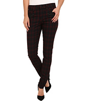 Joe's Jeans - In Line Zip Skinny in Coated Red Plaid