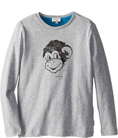 Paul Smith Junior - Long-Sleeved T-Shirt With An Ape Print (Toddler/Little Kids)
