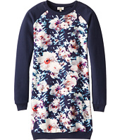 Paul Smith Junior - Long-Sleeved Dress With Flower Print (Big Kids)