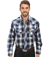 Roper - 9456 Blue & Grey Plaid