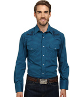 Roper - 9451 Blue Grid Plaid