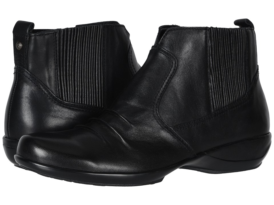 Aetrex Kailey Ankle Boot (Black) Women