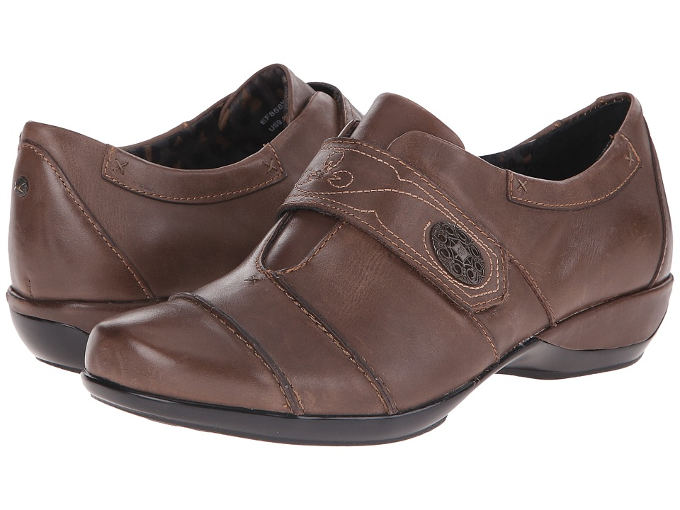 Aetrex Corinne Monk Strap (Brown) Women
