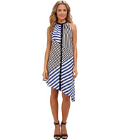 Aryn K - Halter Stripe Dress