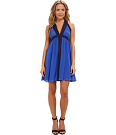 Aryn K - Silk Halter Dress