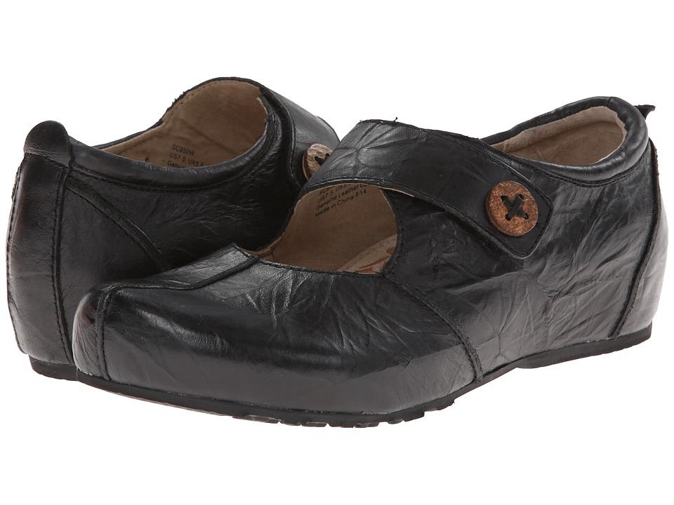 Aetrex Monica Mary Jane Black Womens Maryjane Shoes