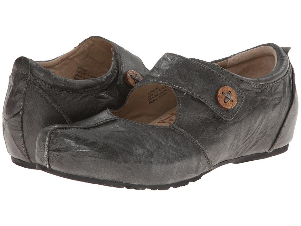 Aetrex Monica Mary Jane Graphite Womens Maryjane Shoes