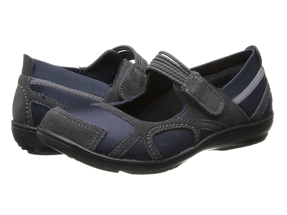 Image of Aetrex - Berries Bungee Mary Jane (Blue) Women's Maryjane Shoes