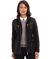 DKNY - Zip Front Scuba Jacket w/ Nylon Combo 51016-Y4