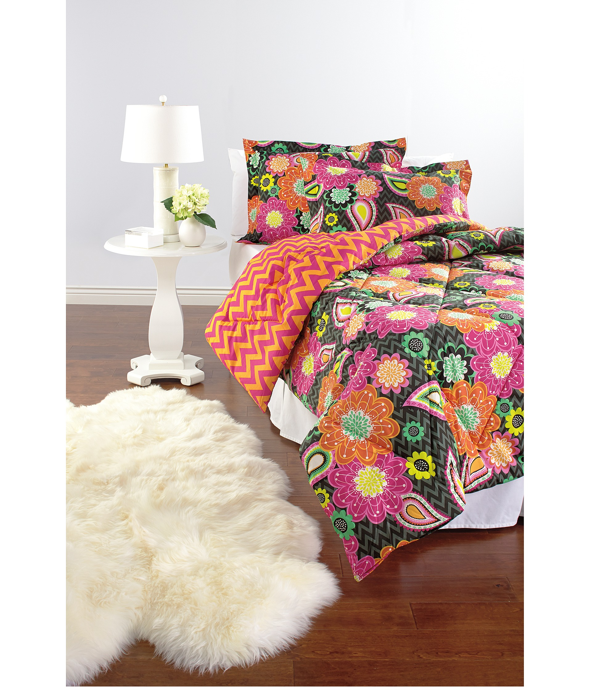 Vera Bradley Reversible Comforter Set Twin Xl Midnight
