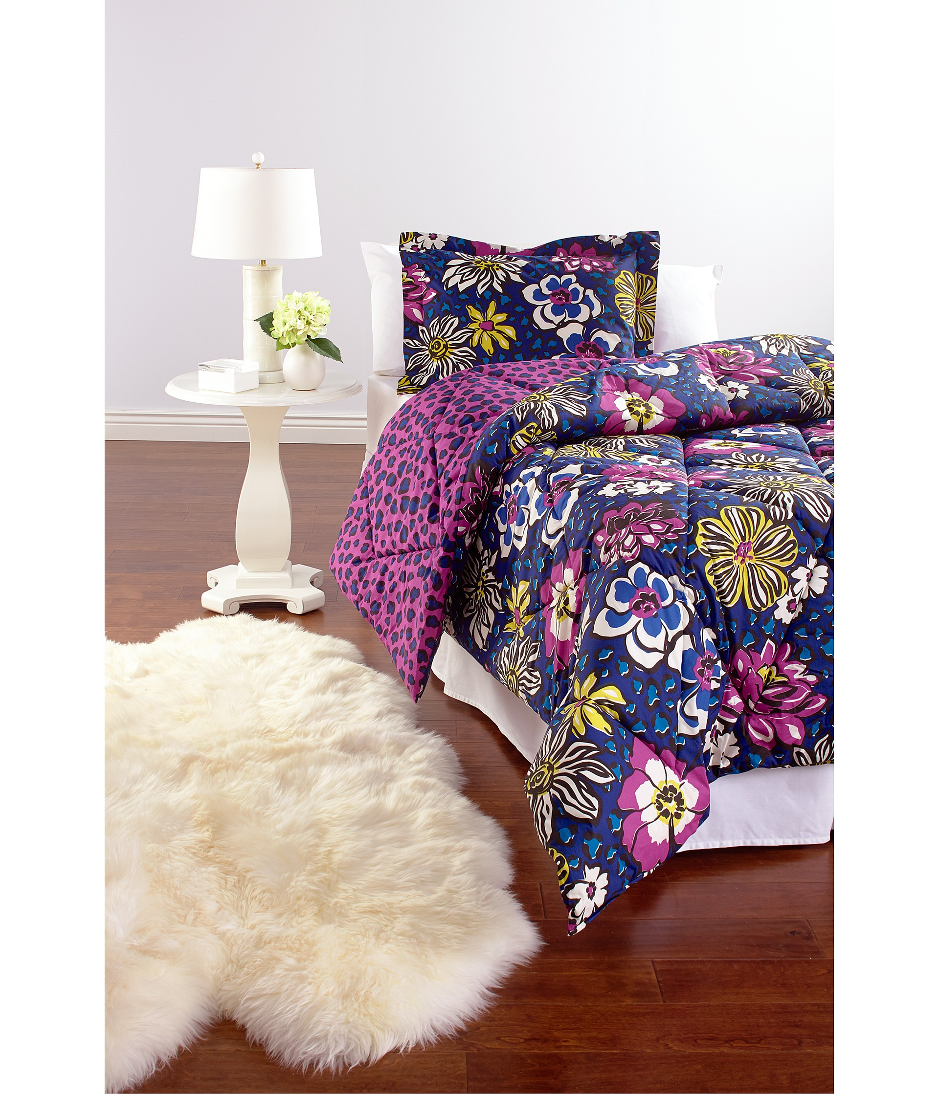 Vera Bradley Reversible Comforter Set Full Queen Heather