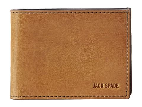 Jack Spade Mitchell Leather Index Wallet
