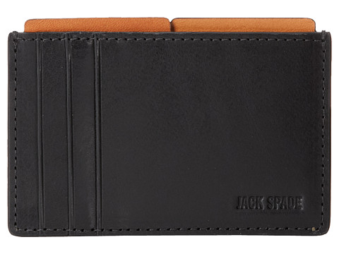 Jack Spade Mitchell Leather File Wallet