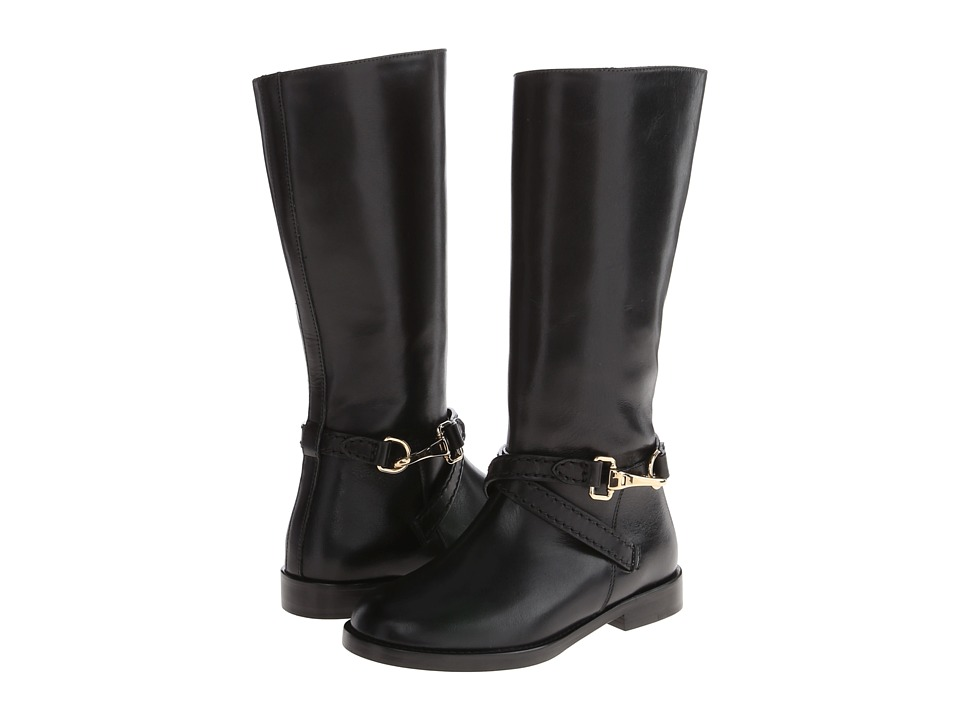 Burberry Kids K1 Rona Toddler/Little Kid Black Girls Shoes