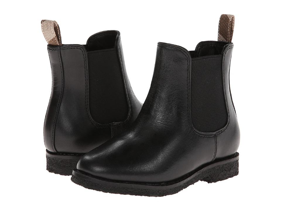 Burberry Kids I1-Vas (Toddler) (Black) Kid's Shoes