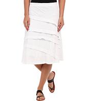 Mod-o-doc - Slub Jersey Asymmetrical Pleated Skirt