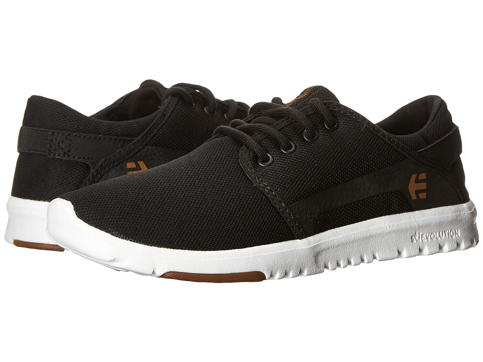 etnies Scout Black/White/Gum Mens Skate Shoes